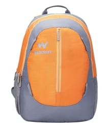 Wildcraft Sayak Orange Backpack, Orange