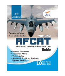 The new AFCAT Guide with 10 past papers (2011 - 2016) 3rd Edition