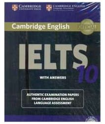 Cambridge IELTS 10 Student s Book with Answers With Audio Cds Paperback (English) 2015