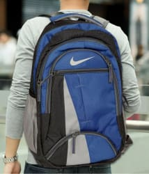 Nike Branded Backpack college bag school bag Multicolour 35 Litres