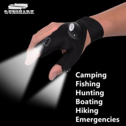 K kudos enterprise LED Light Gloves Flashlight Torch Hand Emergency Light