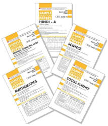 Oswaal CBSE Sample Question Paper For Class 10 English Communicative, Hindi A, Science, Social Science and Maths (Set C 10SP)