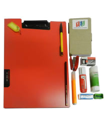 Exam Writing Board with Flap Cover Combo-12 Pcs Set