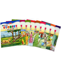 Set of 9 Moral Story Books with 89 Stories