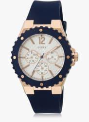 W0149l5 Blue/White Analog Watch