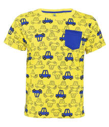 Punkster 100% Cotton Half Sleeves Printed T-Shirt For Boys