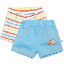 Mini Klub Baby Boys pack of 2 shorts