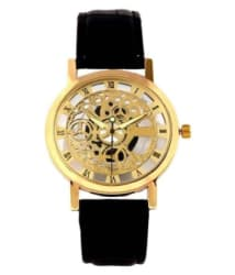 VB IMPEX Stylish Transparent Dial Watch For Girls