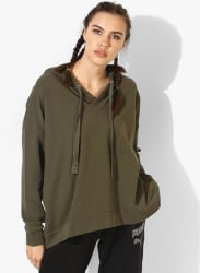 Fusion Olive Hoodie