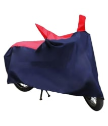 HMS Universal Scooty/Bike Body Cover for Monsoon - Water-Resistant, Dustproof, UV Guard - For all Bikes Upto 150cc