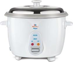 Bajaj Majesty New RCX 5 Electric Rice Cooker (1.8 L, White)