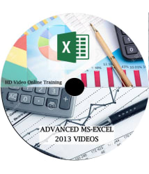 Comprehensive MS Excel 2013 From Beginner to Advanced Level ONLINE HD Video Lecture (51 Video) Recorded Lectures - Online
