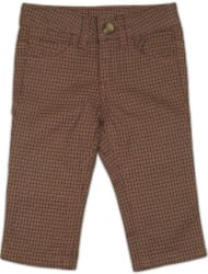 United Colors of Benetton Regular Fit Boys Brown Trousers