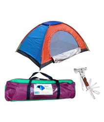 RPS 4 Person Waterproof Camping Tent (With Tool Kit)