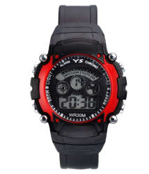 Dcmr Enterprise Black Rubber Wrist Watch For Kids