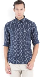U.S. Polo Assn Men s Printed Casual Button Down Shirt