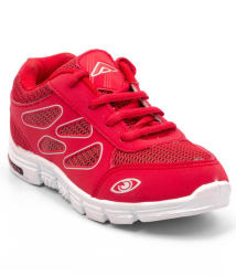 Asian Red Sports Shoes For Kids