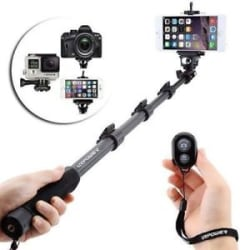 Monopod Holder Selfie Stick YunTeng 1288 Bluetooth Shutter Extendable Handheld .