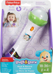 Fisher-Price Laugh and Learn, Rock and Record Microphone (Multicolor)