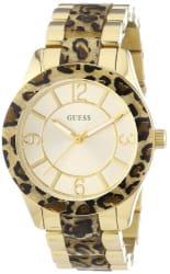 GUESS Analog Gold Dial Women s Watch - W0014L2
