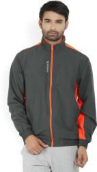 REEBOK Full Sleeve Solid Men s Jacket