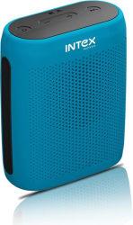 Intex B10 6 W Bluetooth Speaker Blue, Stereo Channel