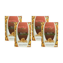 Nutraj Light Broken Baker Pride Regular Walnuts (Akhrot) Giri 250 gm Pack of 4