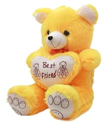 Ansh Cute Yellow Soft Best Friend Teddy Bear - 70 cm
