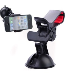 360 Degree Rotating Mobile GPS Holder for Car for dashboard & Windshield
