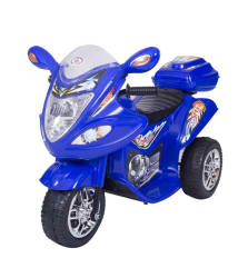 HLX-NMC Battery Operated Fun Toy Bike Blue for Kids