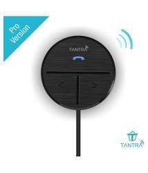 Tantra Fluke Pro Bluetooth Receiver 4.1 Bluetooth Kit for Car (Black)