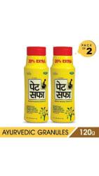 Pet Saffa Constipation Powder 120 gm Pack Of 2