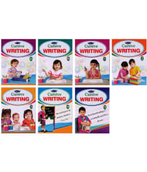 Cursive Writing English Books Set of 7