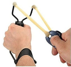 Hanumex Powerful Folding Wrist Slingshot