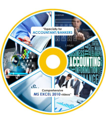 Advanced MS Excel 2010 ONLINE video Series Especially for Accountant & Bankers Recorded Lectures - Online