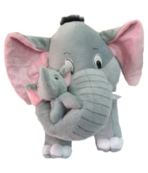 Tabby Toys Grey Elephant Soft Toy