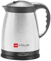 Cello Quick Boil 400 1.5-Litre 1000-Watt Kettle (Silver)