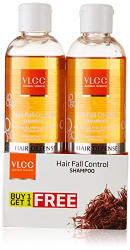VLCC Hair Fall Control Shampoo, 350ml (Buy 1 Get 1 Free)