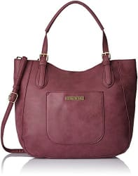 Caprese Women s Satchel (Purple)