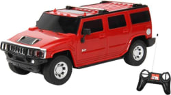 Toyhouse 1:24 Hummer Suv Rechargeable Rc Carr Red