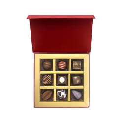 Assorted Premium Belgian Chocolate Box 9Pc