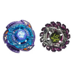 2pcs Metal Fusion 4D Fight Master Beyblade Spinning Top Toy Set BB86 & BB128