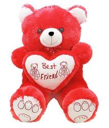 Toysaa Jumbo Teddy bear stuffed love soft toy for boyfriend, girlfriend 2.5 Feet
