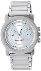 Fastrack Upgrades Analog Silver Dial Men s Watch -NG3039SM03C