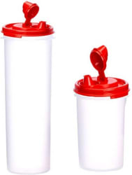 Tupperware 1100 ml, 440 ml Cooking Oil Dispenser Set (Pack of 2)