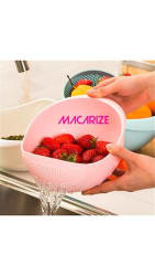 New Wash the rice plastic washing vegetable basket, high quality fruit basket