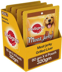 Pedigree Meat Jerky Stix Grilled Liver Dog Treat (240 g, Pack of 4)