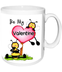 alwaysgift Ceramic Valentine Mugs Multicolour - Pack of 1