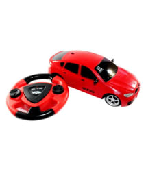 Fantasy India Red Remote Control Rechargeable Toy Car With Steering
