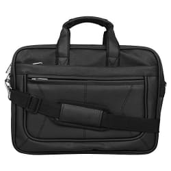 Dussledorf Polyester 25 Ltr Black Laptop Messenger Bag
